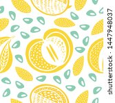 Seamless Stamp Color Pattern...