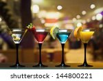 different cocktails or... | Shutterstock . vector #144800221