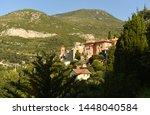 roquebrune cap martin  provence ... | Shutterstock . vector #1448040584