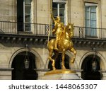 Golden Statue Of Joan Of Arc A...