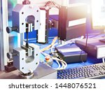 electromechanical machines for... | Shutterstock . vector #1448076521