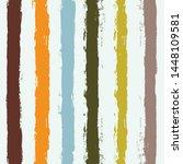 striped pattern  hand drawn...   Shutterstock .eps vector #1448109581