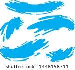 natural blue water shapes bundle   Shutterstock .eps vector #1448198711