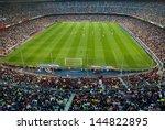 barcelona   may 23  camp nou... | Shutterstock . vector #144822895