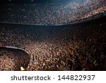barcelona   may 23  camp nou... | Shutterstock . vector #144822937