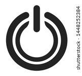 power button vector stroke icon