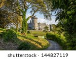 famous 5 star dromoland castle...   Shutterstock . vector #144827119