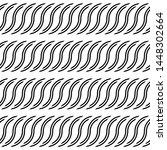 design seamless monochrome...   Shutterstock .eps vector #1448302664