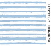 blue stripe seamless pattern.... | Shutterstock .eps vector #1448316164