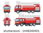 Cartoon Design Fire Truck Cars...
