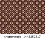 voluminous knitted fleece... | Shutterstock . vector #1448352317
