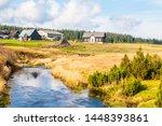 jizerka village in summer time  ...   Shutterstock . vector #1448393861