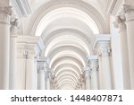 The White Arches With Columns...
