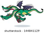 Cartoon Dragon  Cartoon Three...