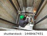Lift Machinist Repairing...