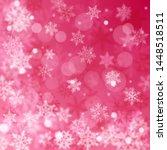 christmas blurred background of ...   Shutterstock .eps vector #1448518511