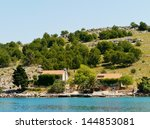 Summer Houses On The Croatian...