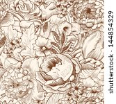 Seamless Pattern With Lush...