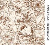 Seamless Pattern With Lush...