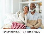 front view of african american... | Shutterstock . vector #1448567027