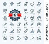 japan  japanese food  japanese... | Shutterstock .eps vector #1448581541