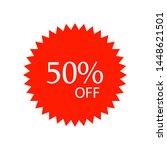 special sale discount sticker... | Shutterstock .eps vector #1448621501