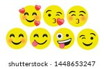 high quality icon flat vector... | Shutterstock .eps vector #1448653247