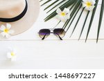 Hat With Sunglasses Of...