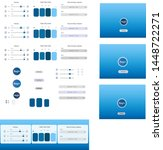 user interface kit blue sky...