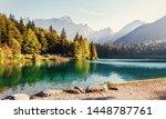 Scenic Image Of Fairytale Lake...