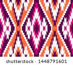 tribal seamless colorful... | Shutterstock .eps vector #1448791601
