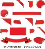 set of banners with arrows   Shutterstock .eps vector #1448824301