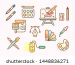 vector illustration of a...   Shutterstock .eps vector #1448836271