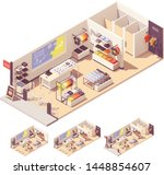 vector isometric clothing store ... | Shutterstock .eps vector #1448854607