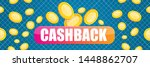 vector cash back icon with...   Shutterstock .eps vector #1448862707