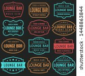 lounge bar premium quality... | Shutterstock .eps vector #1448863844