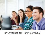 education concept   students... | Shutterstock . vector #144889669