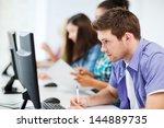 education concept   student... | Shutterstock . vector #144889735