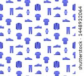 pattern clothes shoes and... | Shutterstock .eps vector #1448932064