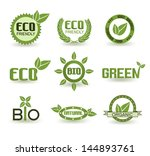 eco icon set | Shutterstock .eps vector #144893761