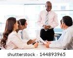 successful business... | Shutterstock . vector #144893965
