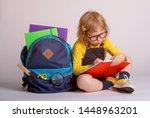 children go back to school.... | Shutterstock . vector #1448963201