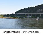 freeway overpass at the river | Shutterstock . vector #1448985581