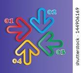 modern design. vector... | Shutterstock .eps vector #144906169