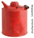 Vintage Red Gas Can