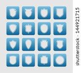 shield pictogram set | Shutterstock .eps vector #144921715