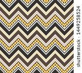tribal striped seamless pattern....   Shutterstock .eps vector #1449258524