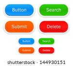 modern web button set   search  ... | Shutterstock .eps vector #144930151