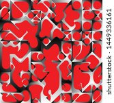 red liquid geometric background ...   Shutterstock .eps vector #1449336161