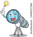 have an idea toy telescope in a ... | Shutterstock .eps vector #1449427184